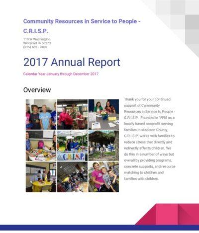 C.R.I.S.P. Annual Report 2017